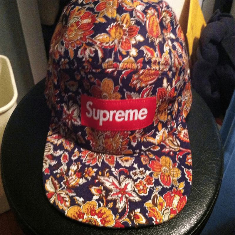 Image of Supreme Floral 5 Panel Hat c94cca9f57b