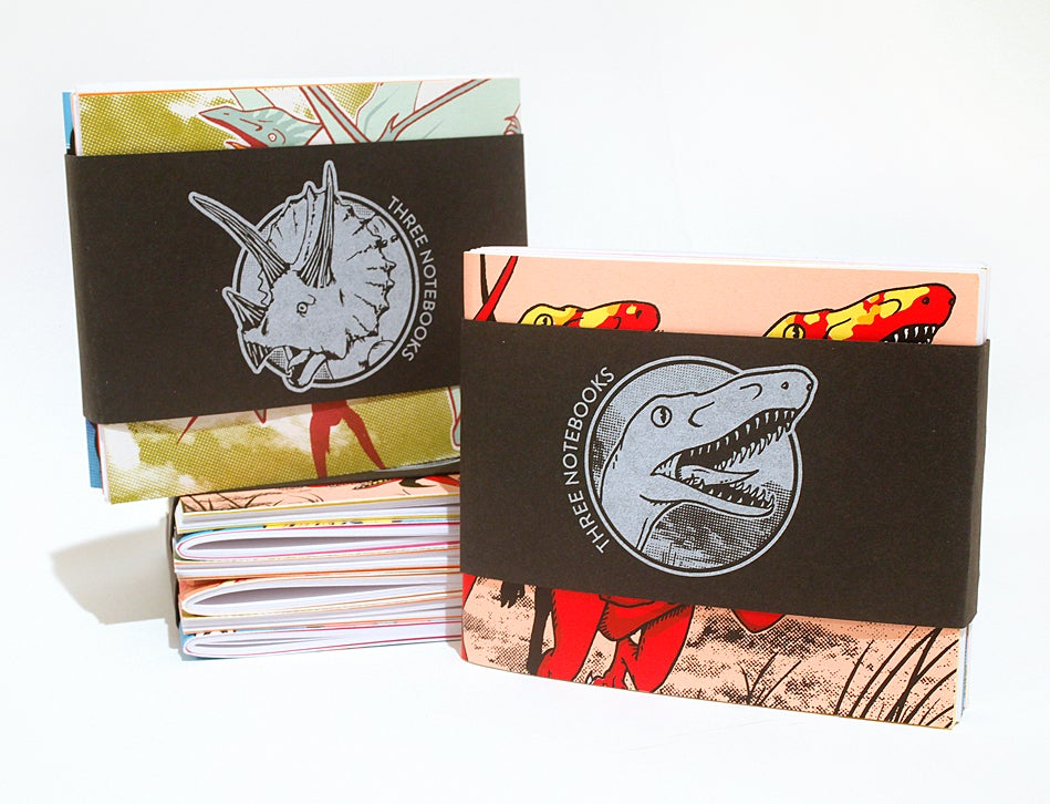 Image of Dinosaur Notebooks - 3 Pack