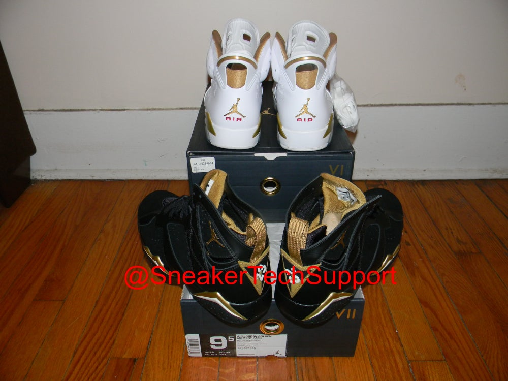 Image of Air Jordan Golden Moments Pack