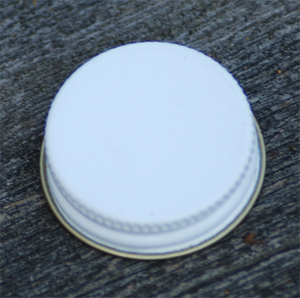 Image of Growler Cap 33MM White (For 32 oz Growlers)