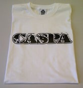 Image of Caspa White/Black Mens T-shirt