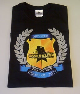 Image of Dub Police Class Of 2011 Mens Black T-shirt