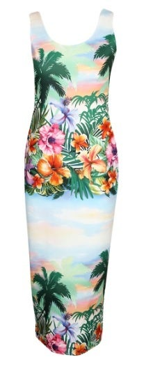 Image of Tropical dress