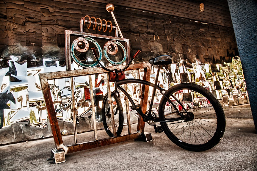 Image of Radio the Robot Bike Rack