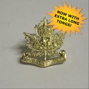 Image of Regimental Collar Badges Brass / Copper