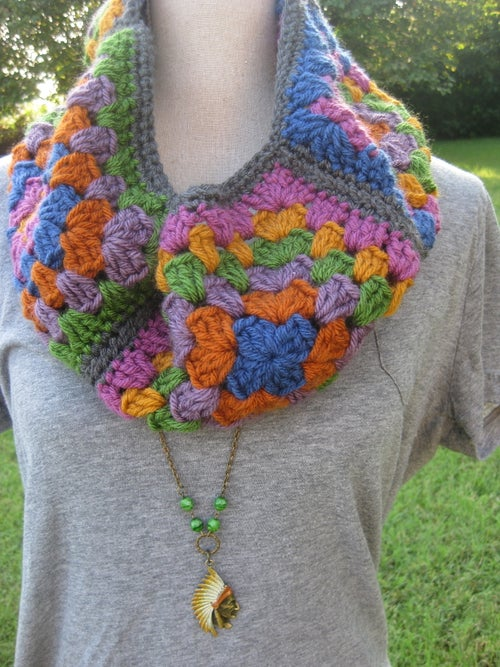 Image of Granny Square Cowl