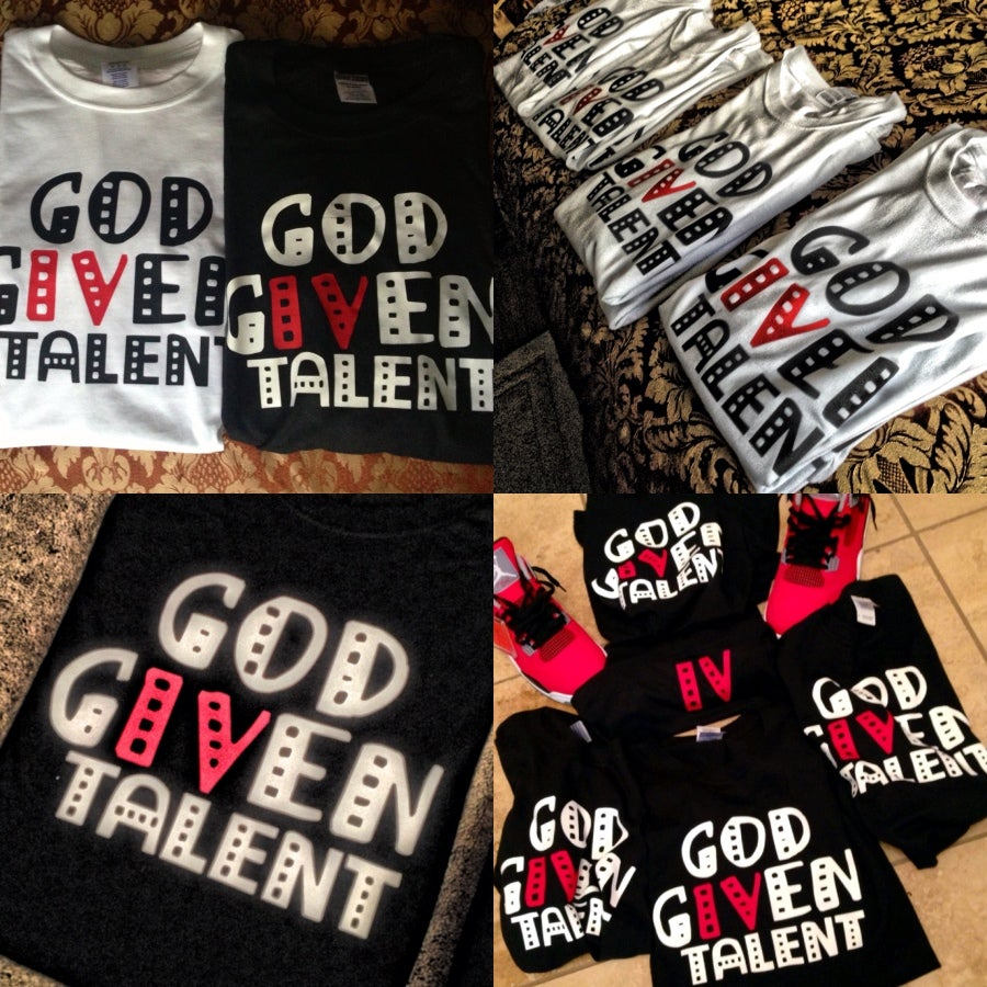 Image of God Given Talent - Tee