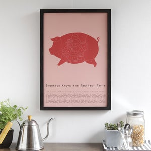 Brooklyn Knows the Tastiest Part by Alyson Thomas of Drywell Art. Available at shop.drywellart.com