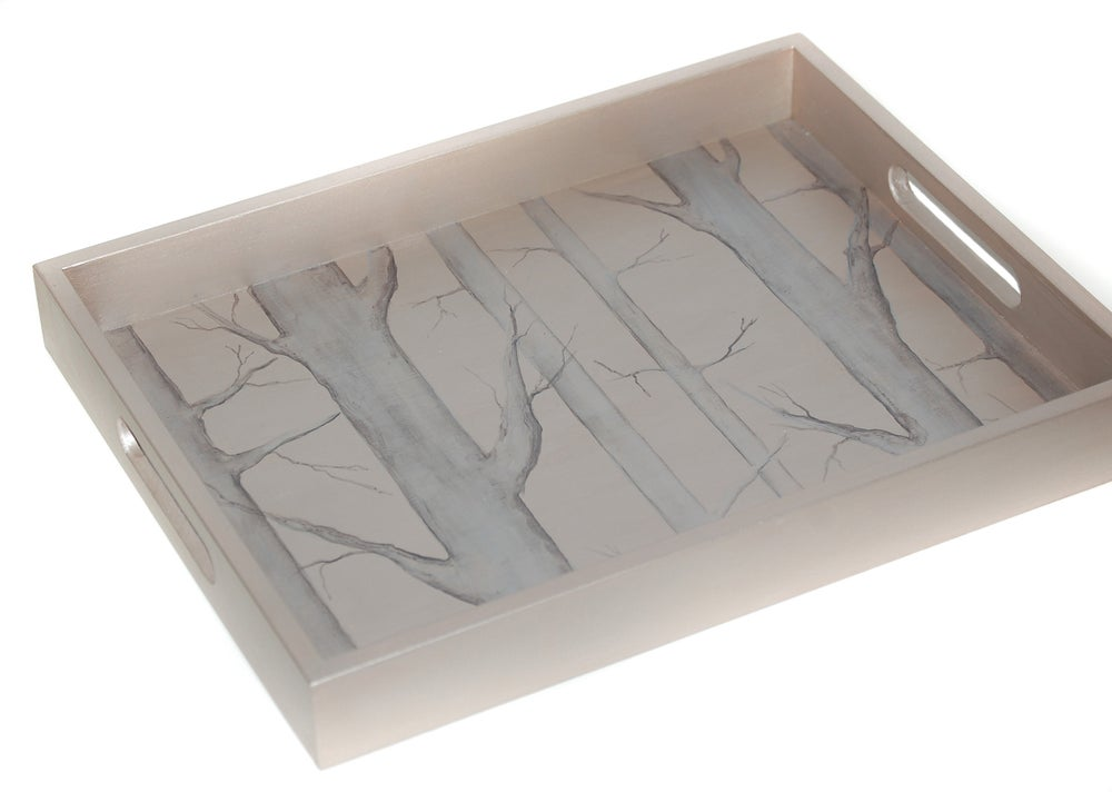 Image of Modern Tray ~ Trees