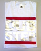 Image of DUB STEP Logo White Mens T-shirt
