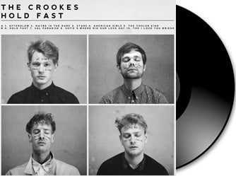 The Crookes - Hold Fast vinyl LP + Download Card
