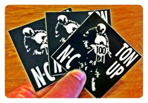 Image of Ton Up NC stickers 3 for $5