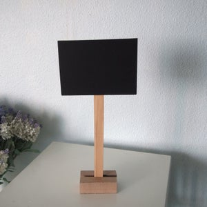 Mini Chalkboard on a Stand (2 chalkboards)