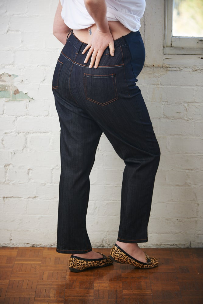 Image of Plus size maternity jeans