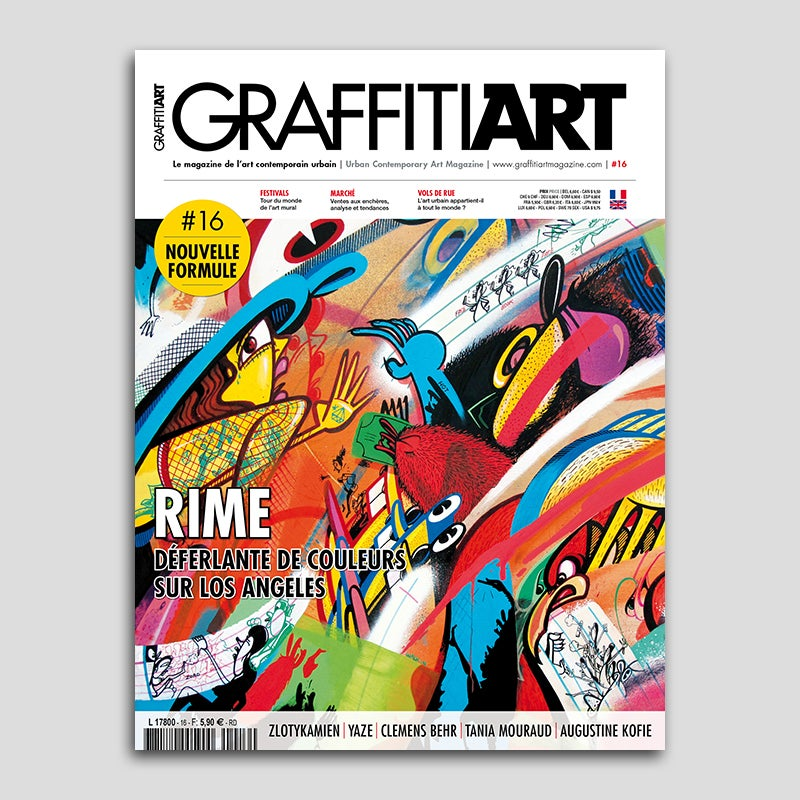 Image of Graffiti Art Magazine #16