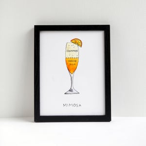 Mimosa - Archival Art Print by Alyson Thomas of Drywell Art. Available at shop.drywellart.com