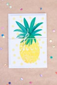 Image of Pineapple Greeting Card