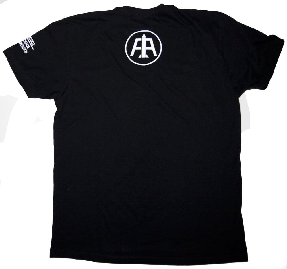 Image of Black Advanced Logo Tee