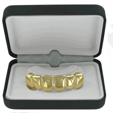 Image of Gold Tone GRILLZ