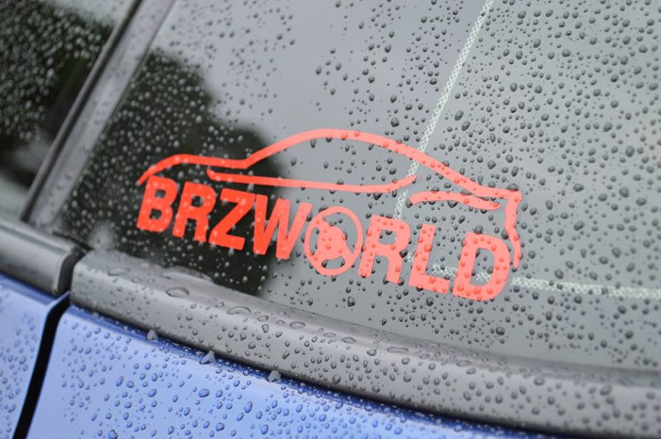 Image of BRZ WORLD Decal
