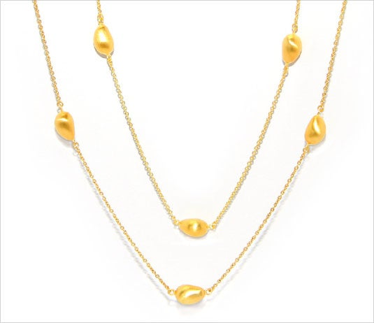 Image of ILI'ILI GOLD STATION NECKLACE