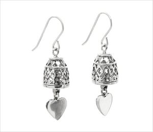 Image of TEMPLE BELL EARRINGS