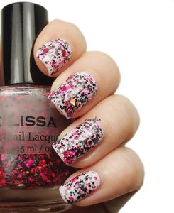 Image of Girl's Night Out - Neon Holographic Glitter Nail Lacquer Full Size 15 ml / 0.5 oz Bottle