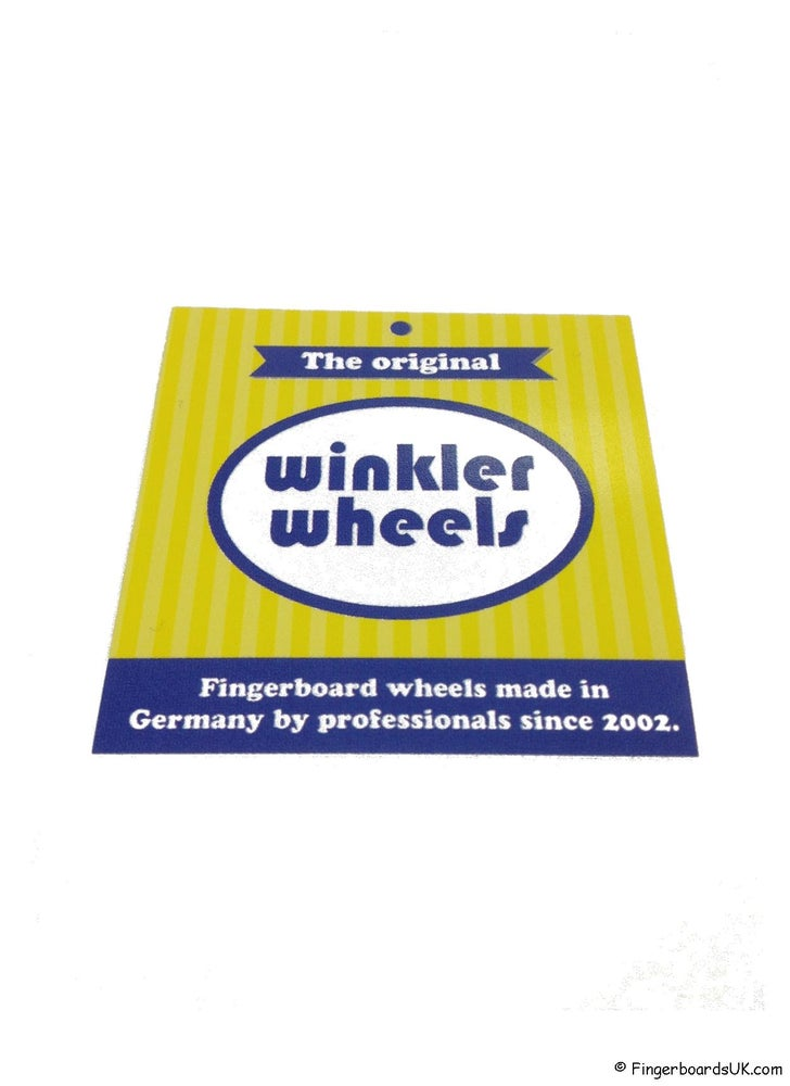Image of Winkler Wheels Sticker Signatures