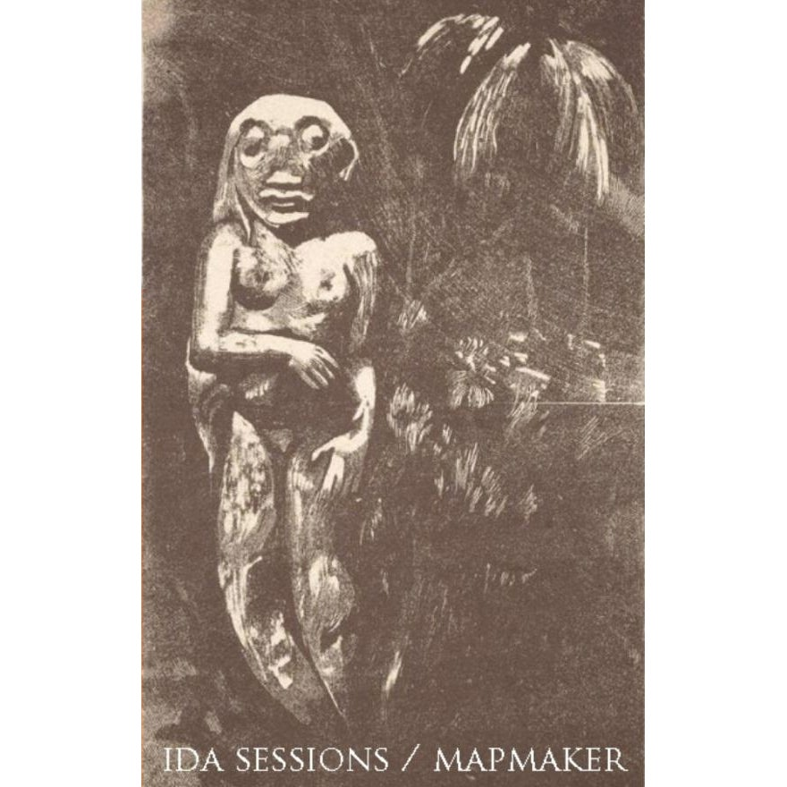"Image of Ida Sessions / Mapmaker ""Split"" Cassette"