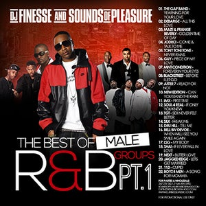 Image of MALE R&B GROUPS MIX VOL. 1