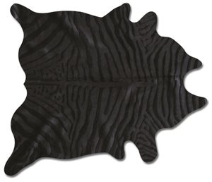 Image of 676685001382 Togo zebra black on black