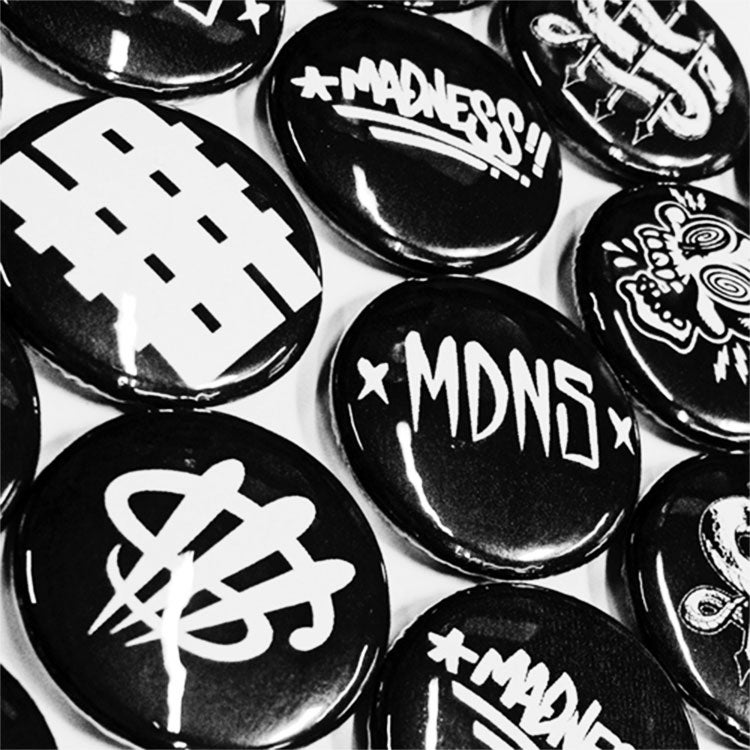 Image of Button Pack Black
