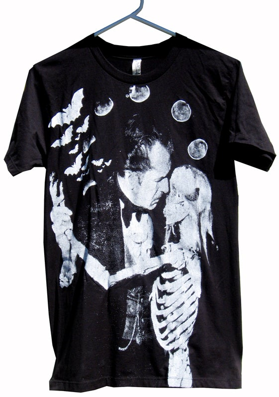 Image of Vincent Price 'Dance of the Dead' T-Shirt