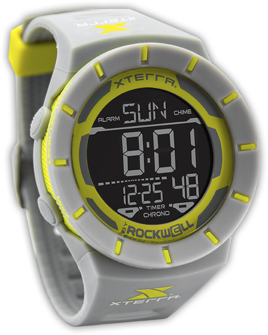 Image of Coliseum Digital Watch - Gray/Yellow