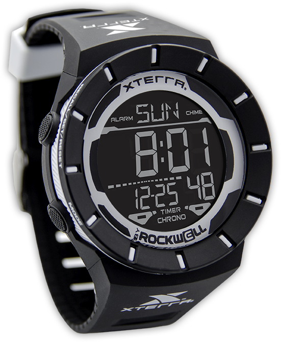 Image of Coliseum Digital Watch - Black/White