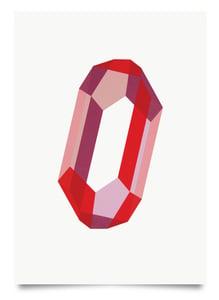 Image of Quartz Love print