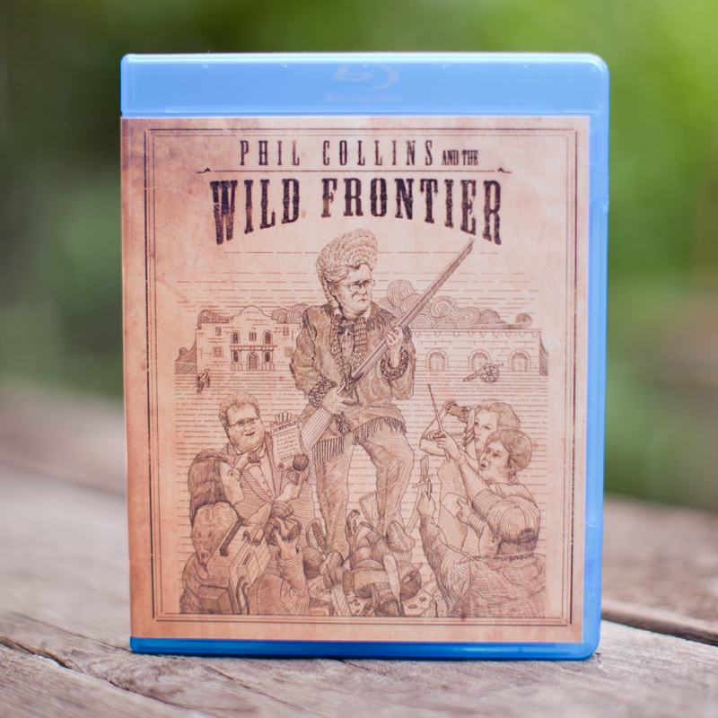 Image of Phil Collins and the Wild Frontier BLU RAY