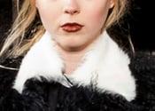 Image of White Fur Collar