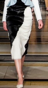 Image of Fur Skirt