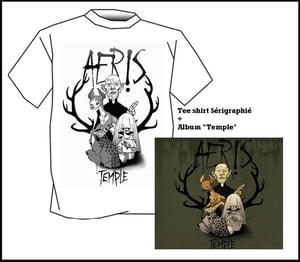 "Image of Album ""Temple"" + Tee shirt // Bundle 1"