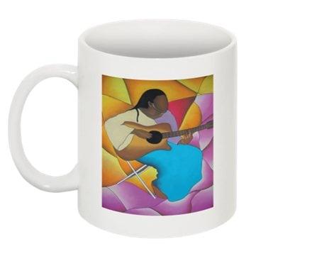 Image of Guitar Woman Mug