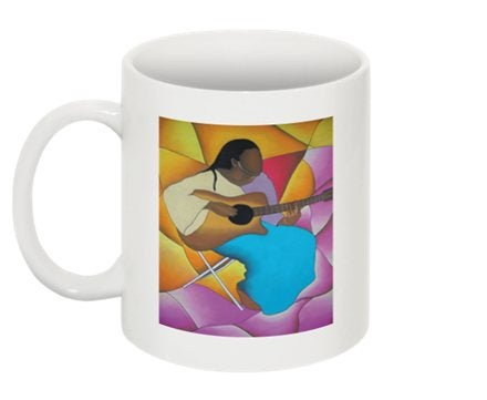 Image of Guitar Woman Mug