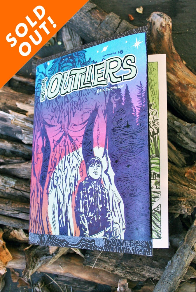 Image of The Outliers Comic Book - Signed