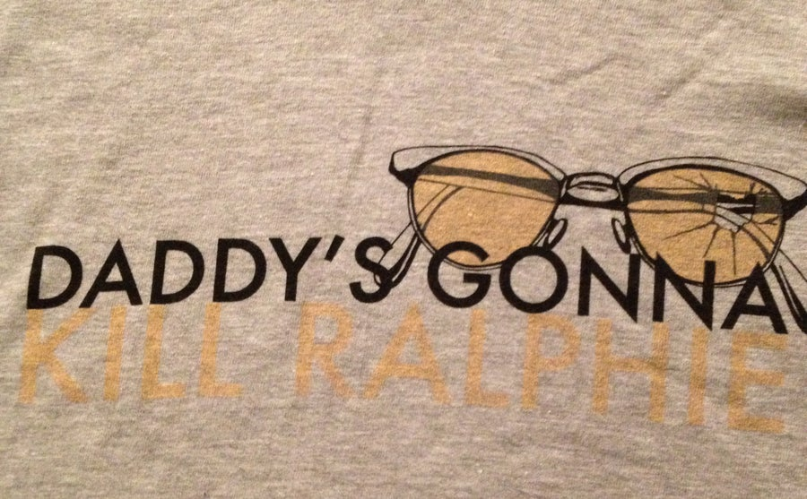 Image of Daddy's Gonna Kill Ralphie - Broken Glasses Shirt