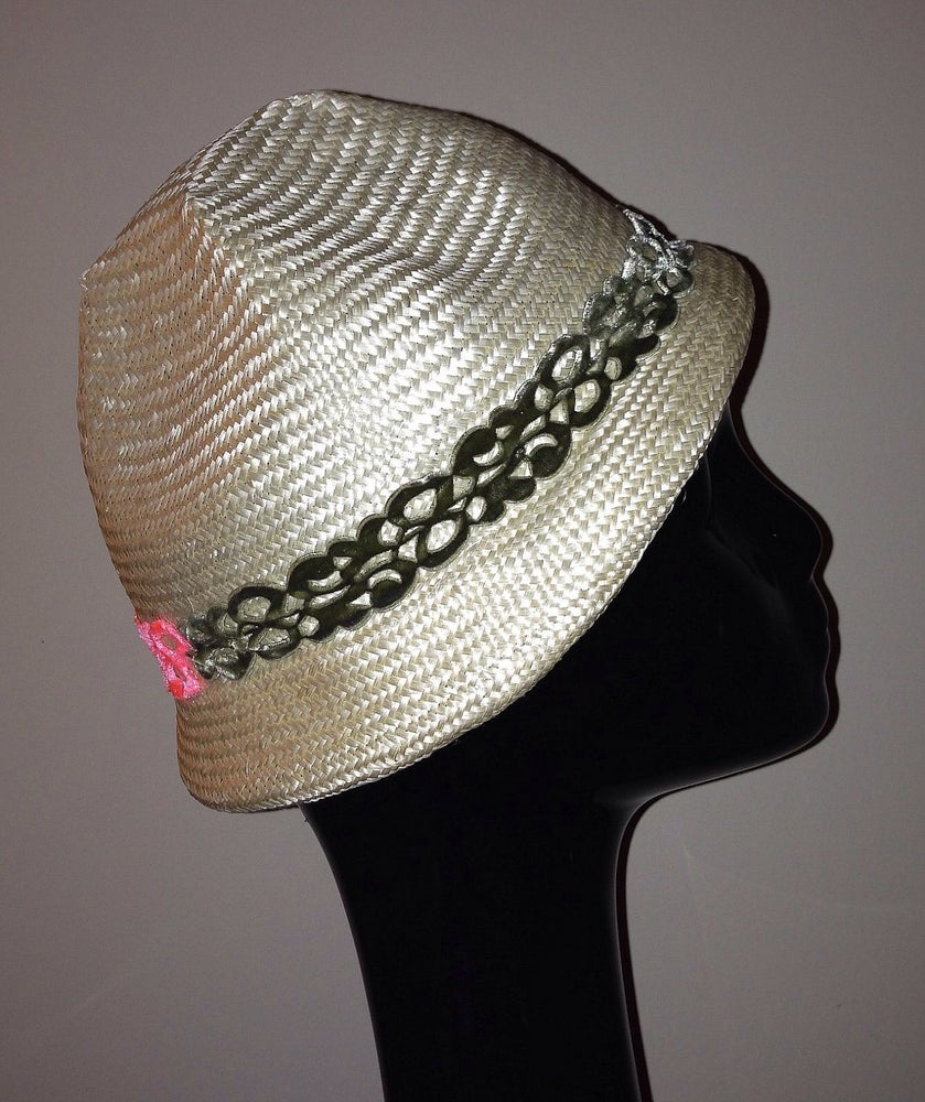 Image of Hand blocked Parasisal straw hat