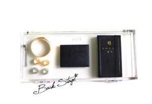 Image of Limited Edition - 5.0 Transparent Oversized Extra Long Clear Acrylic Perspex Box See Through Clutch