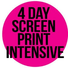 Image of 4 DAY SCREEN INTENSIVE. Fri. 10th Aug. - Mon 13th. Aug 10am - 4pm. £320.00