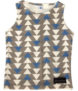 Image of Triangles Tank Top by Little Cocoa Bean