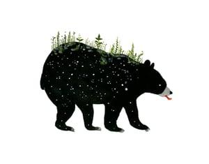 Image of Spring Bear - 11 x 14 inch Archival Inkjet Inkjet Print (Giclée).