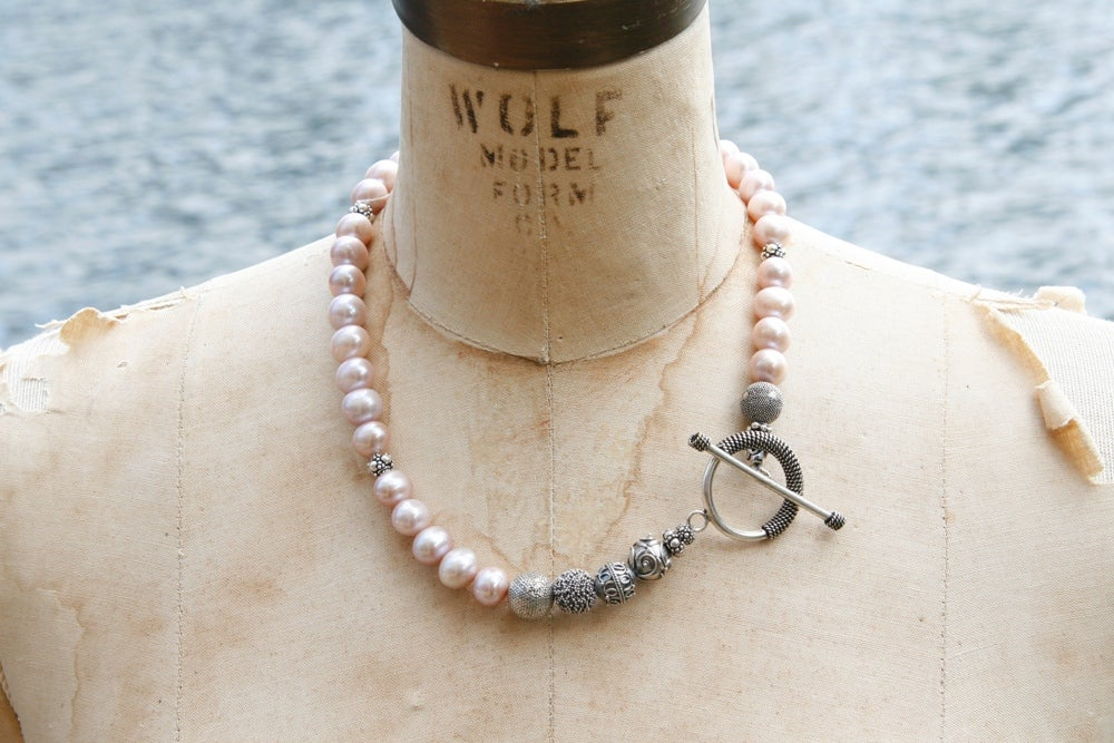 Pink Freshwater Necklace